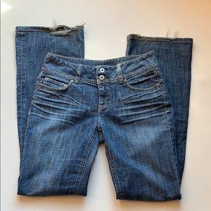 London Jean Victoria Secret Size 6 Flare